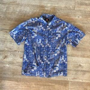 Quicksilver Aloha Shirt